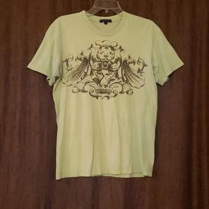 Timoteo,  Green Lion Tshirt,  Size Medium